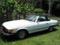 Front 3/4 View of 1974 SL Class 450 SL Roadster