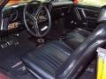 1969 GTO Judge Hardtop Black Interior