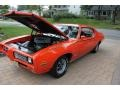 1969 GTO Judge Hardtop Carousel Red