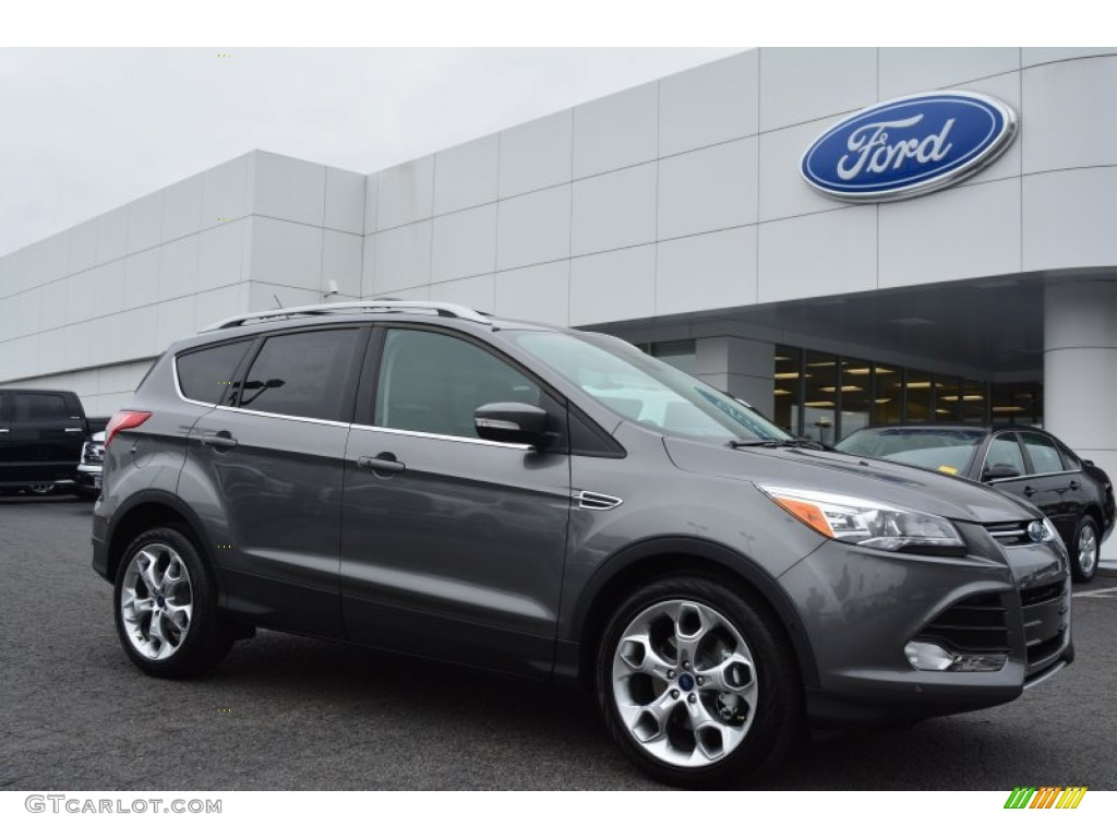 2014 Escape Titanium 2.0L EcoBoost - Sterling Gray / Charcoal Black photo #1