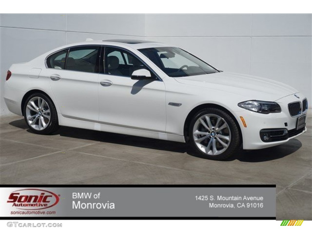 2015 alpine white bmw 5 series 535i sedan #97146739 | gtcarlot