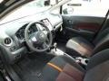 Charcoal 2015 Nissan Versa Note Interiors