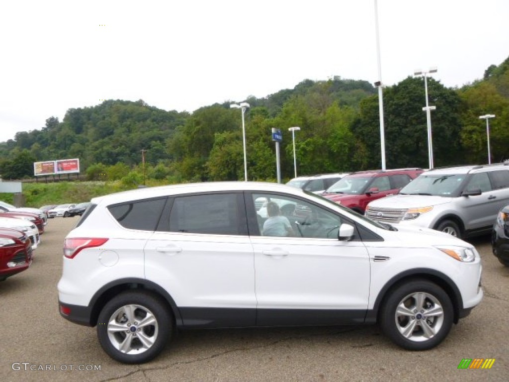 2014 Escape SE 1.6L EcoBoost 4WD - White Platinum / Charcoal Black photo #1