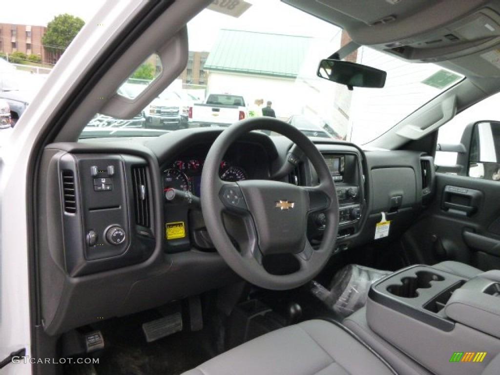 jet black dark ash interior 2015 chevrolet silverado 3500hd wt regular cab 4x4 dump truck photo. Black Bedroom Furniture Sets. Home Design Ideas