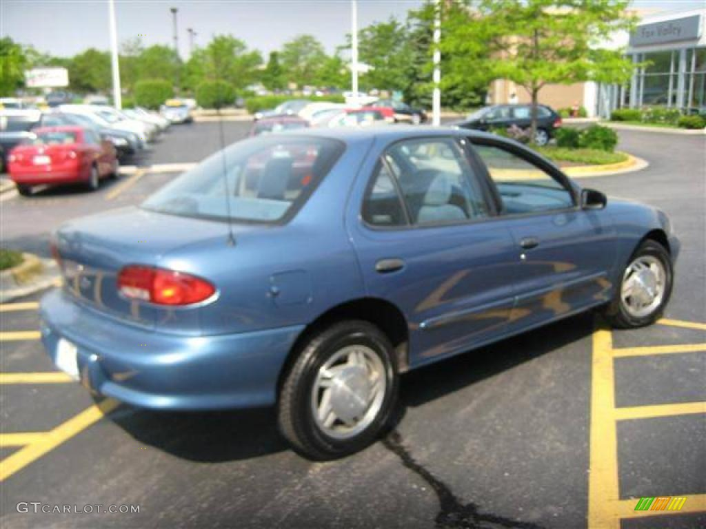 1997 cavalier ls sedan medium opal blue metallic medium blue photo