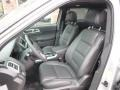 2015 Ford Explorer Sport Charcoal Black Interior Front Seat Photo