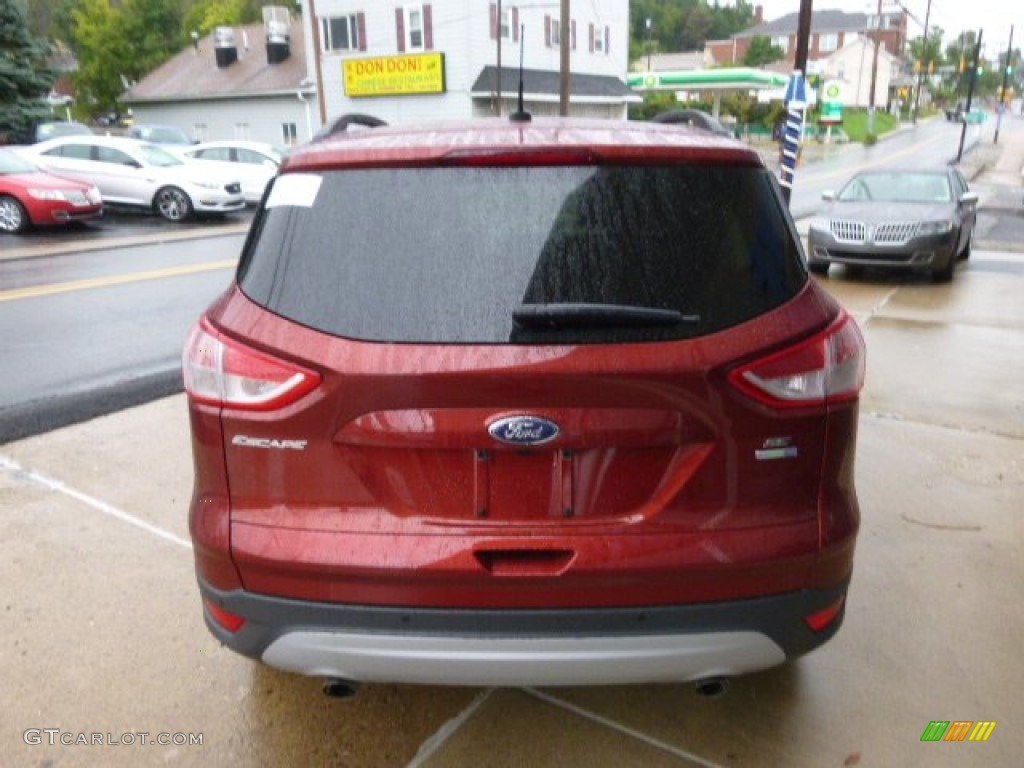 2014 Escape SE 2.0L EcoBoost 4WD - Sunset / Charcoal Black photo #5