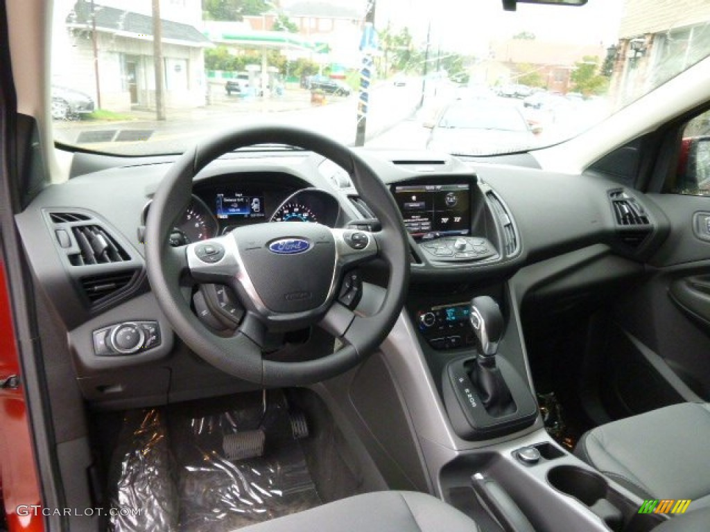 2014 Escape SE 2.0L EcoBoost 4WD - Sunset / Charcoal Black photo #11