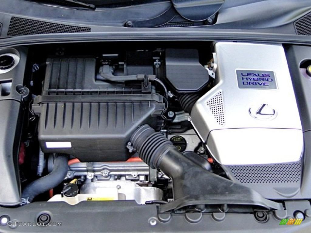 2008 Lexus RX 400h Hybrid Engine Photos