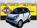 Crystal White 2013 Smart fortwo pure coupe