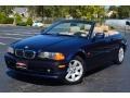 Orient Blue Metallic 2001 BMW 3 Series 325i Convertible