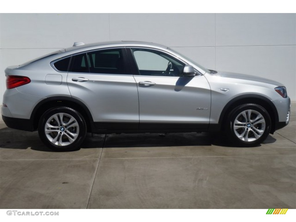 glacier silver metallic 2015 bmw x4 xdrive28i exterior. Black Bedroom Furniture Sets. Home Design Ideas