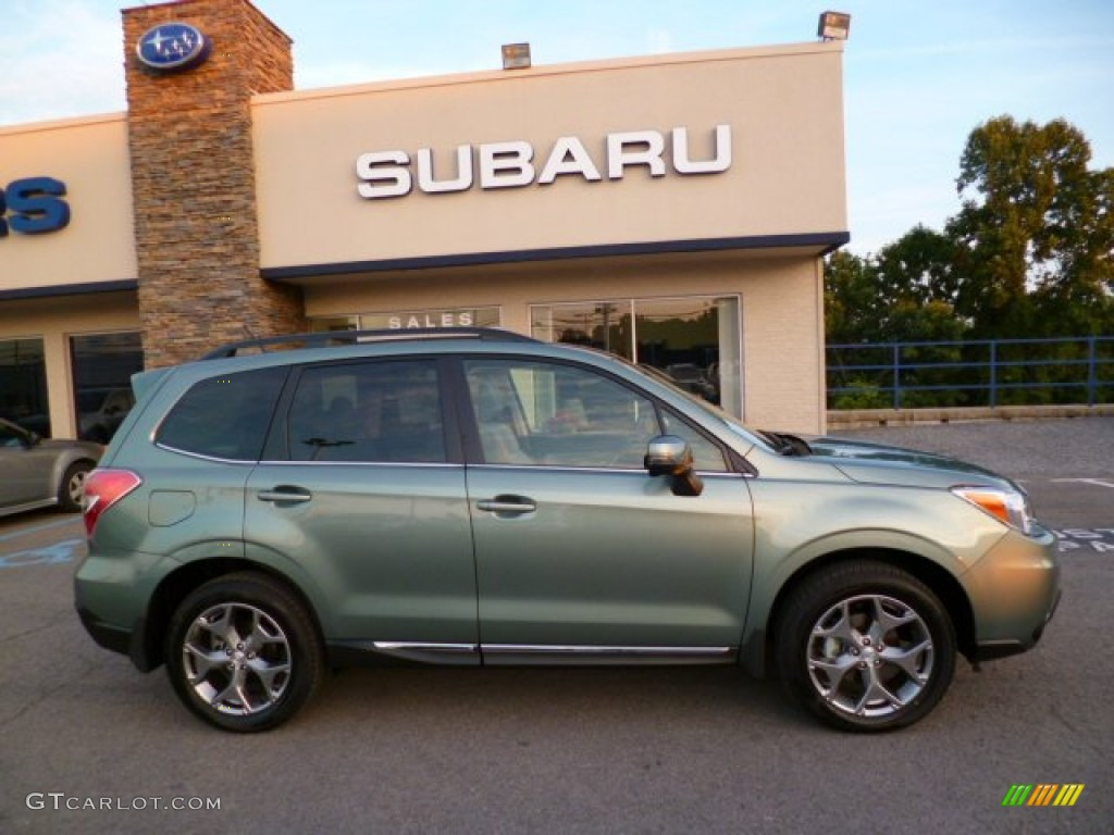 2017 Forester 2 5i Touring Jasmine Green Metallic Gray Photo 7