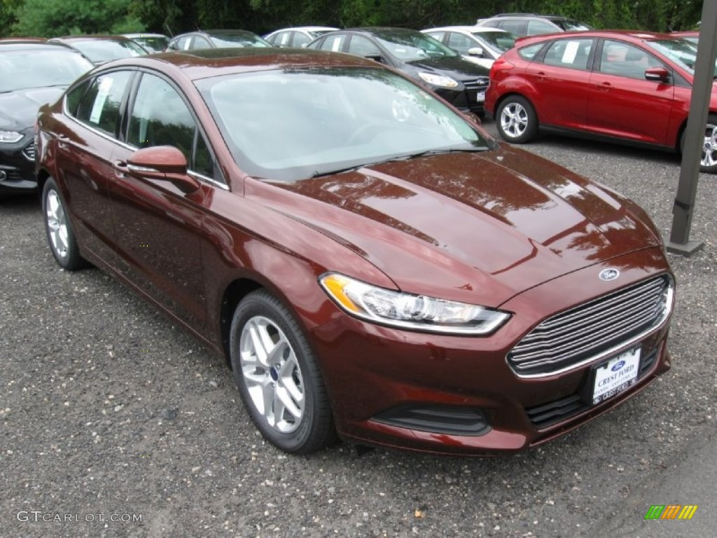 2015 Bronze Fire Metallic Ford Fusion SE #97274056 Photo #3 | GTCarLot ...