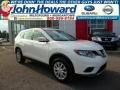 Moonlight White 2014 Nissan Rogue Gallery