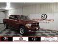 2012 Flame Red Dodge Ram 1500 ST Crew Cab 4x4 #97298937