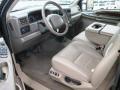 Medium Parchment Interior Photo for 2002 Ford F350 Super Duty #97320538