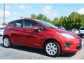 2013 Ruby Red Ford Fiesta SE Hatchback  photo #1