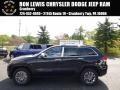 Brilliant Black Crystal Pearl 2015 Jeep Grand Cherokee Limited 4x4