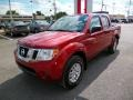 Lava Red 2015 Nissan Frontier Gallery