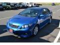 Blue Streak Metallic - Corolla S Photo No. 4