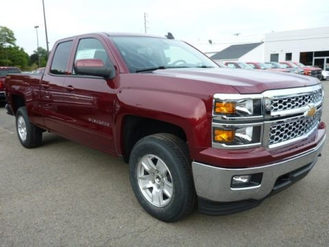 2015 Chevrolet Silverado 1500 LT Double Cab 4x4 Data, Info and Specs