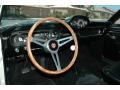 1965 Ford Mustang Black Interior Dashboard Photo