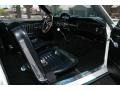 1965 Ford Mustang Black Interior Front Seat Photo
