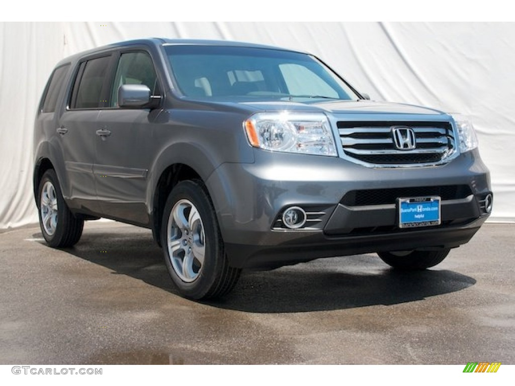 2015 modern steel metallic honda pilot ex 97396284 photo
