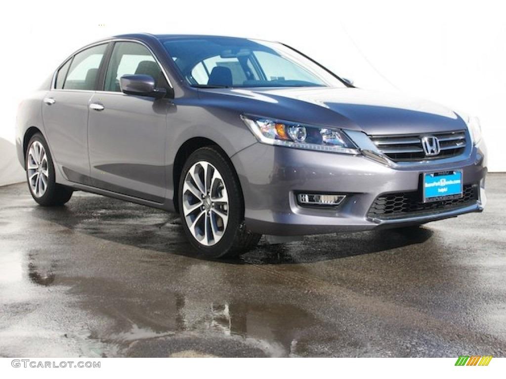 2015 modern steel metallic honda accord sport sedan for Honda civic modern steel