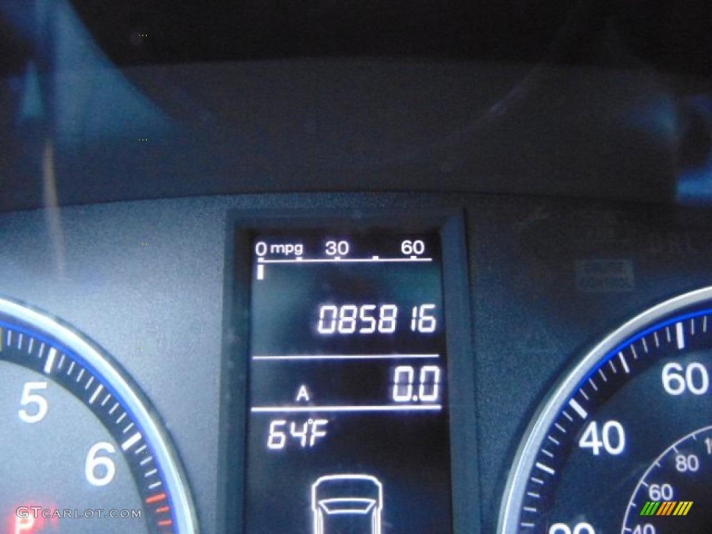 2008 CR-V EX 4WD - Royal Blue Pearl / Black photo #20