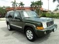 Jeep Green Metallic 2007 Jeep Commander Limited