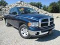 2003 Patriot Blue Pearl Dodge Ram 1500 SLT Quad Cab #97430651