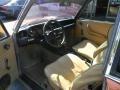 1974 BMW 2002 Tii Beige Interior Interior Photo