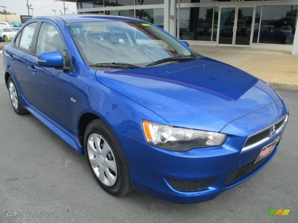 2015 octane blue mitsubishi lancer es 97430455 car color galleries. Black Bedroom Furniture Sets. Home Design Ideas