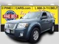 Steel Blue Metallic 2010 Mercury Mariner I4 4WD