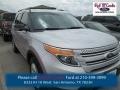 Ingot Silver 2014 Ford Explorer XLT