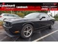Brilliant Black Crystal Pearl 2010 Dodge Challenger SE