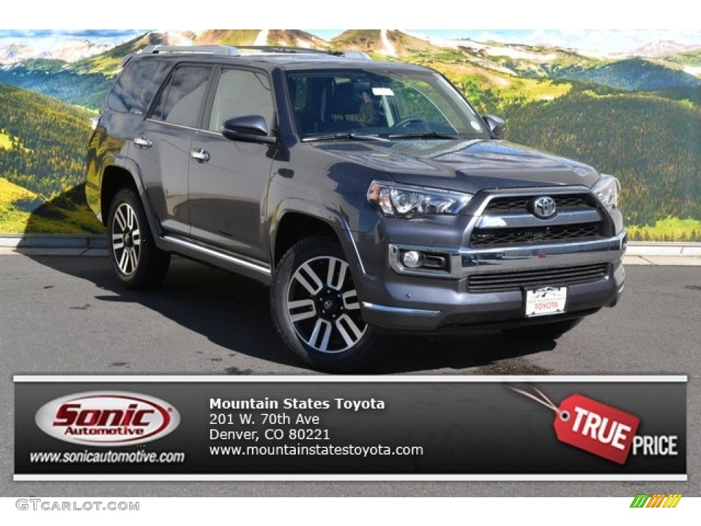 2015 Magnetic Gray Metallic Toyota 4runner Limited 4x4 97521641 Car Color