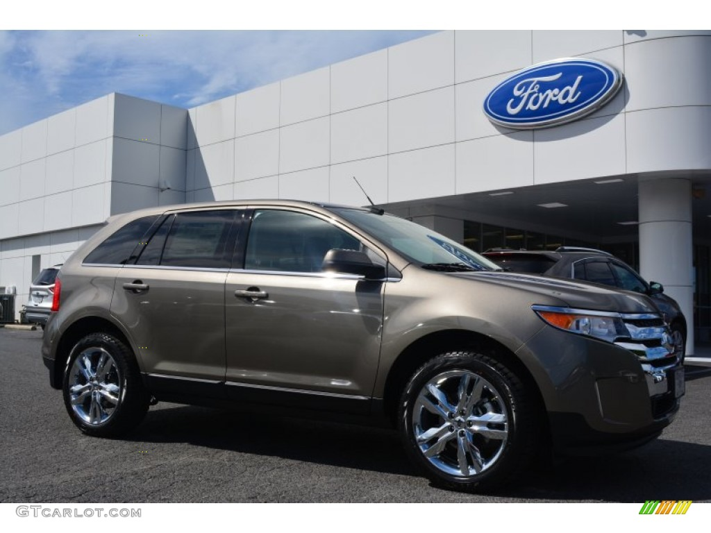 2014 mineral gray ford edge limited 97521842 car color galleries. Black Bedroom Furniture Sets. Home Design Ideas