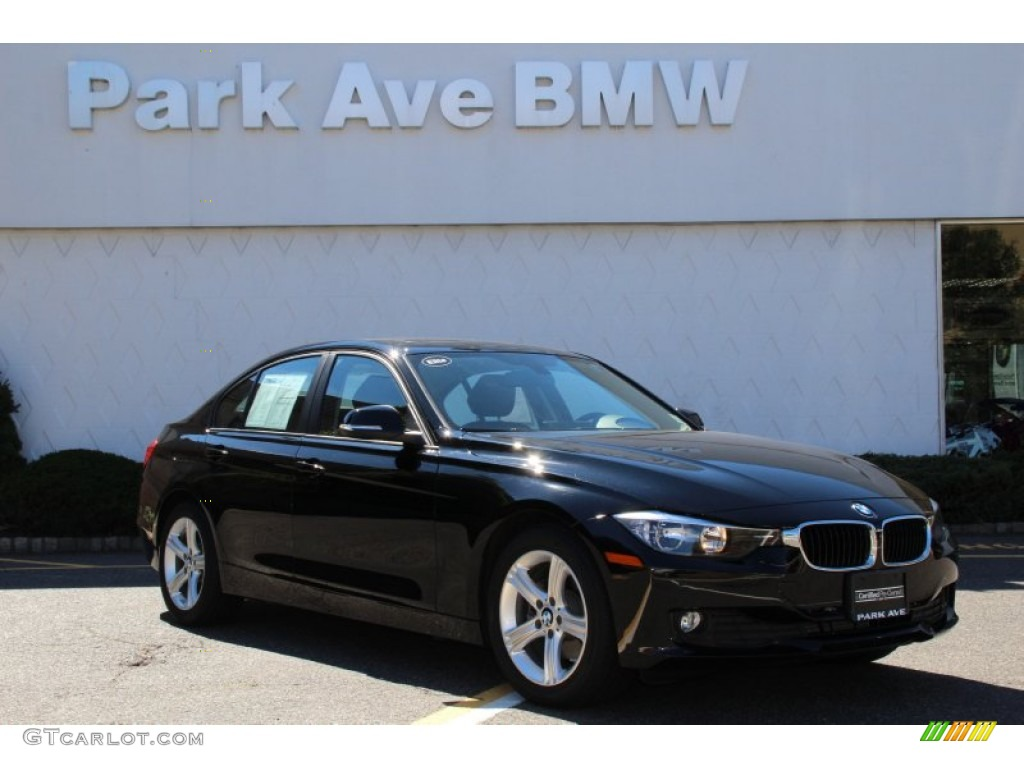 2014 jet black bmw 3 series 320i xdrive sedan 97521759 car color galleries. Black Bedroom Furniture Sets. Home Design Ideas