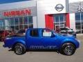 Metallic Blue 2015 Nissan Frontier Gallery