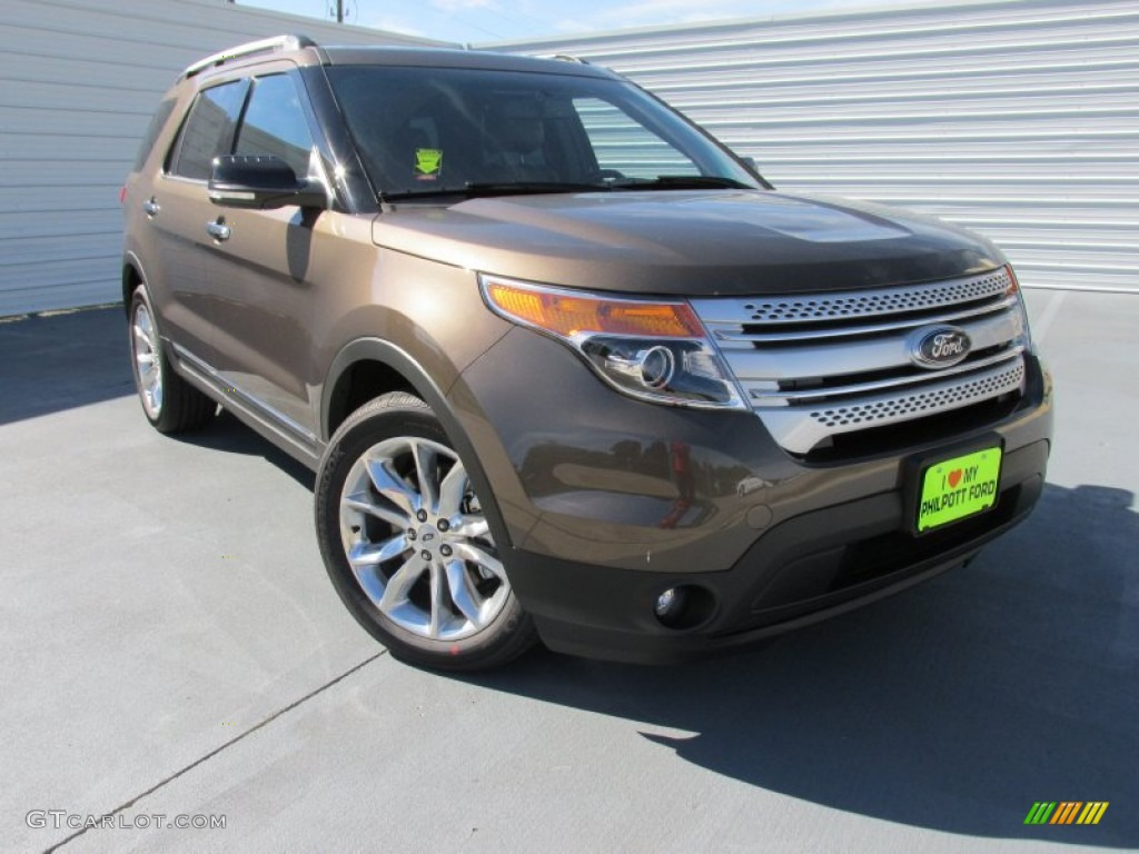 2015 ford explorer xlt caribou color charcoal black interior 2015