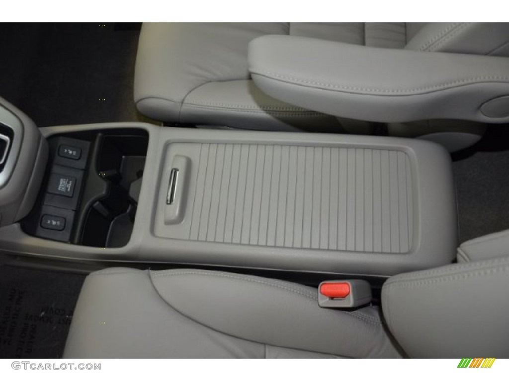 2014 CR-V EX-L - Basque Red Pearl II / Gray photo #13