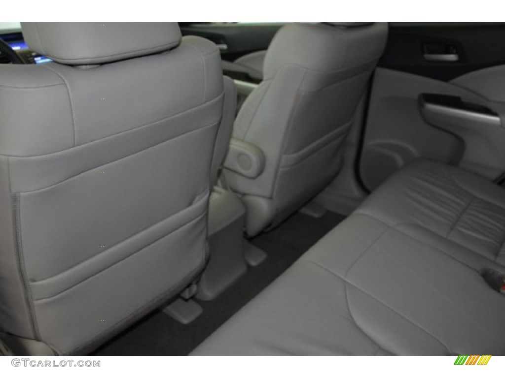 2014 CR-V EX-L - Basque Red Pearl II / Gray photo #23