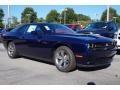 2015 Jazz Blue Pearl Dodge Challenger SXT  photo #4