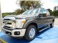 Magnetic 2015 Ford F250 Super Duty Lariat Crew Cab