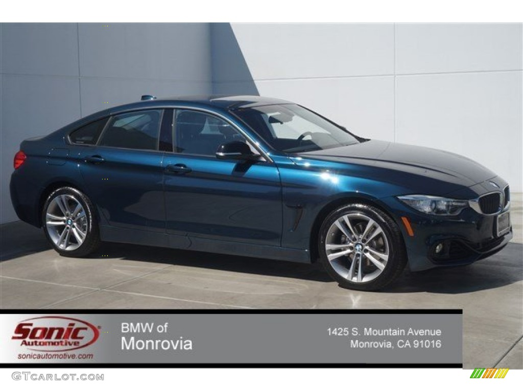 2015 Estoril Blue Metallic Bmw 4 Series 428i Gran Coupe 97562007 Gtcarlot Com Car Color