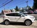 2014 White Platinum Ford Escape Titanium 2.0L EcoBoost  photo #4