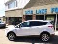 2014 White Platinum Ford Escape Titanium 2.0L EcoBoost  photo #8